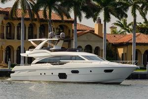 Used Ferretti Yachts 690 Aft Cabin Boat For Sale