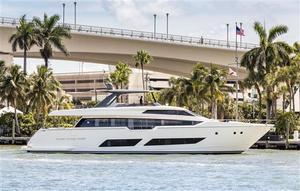 Used Ferretti Yachts 850 Motor Yacht For Sale