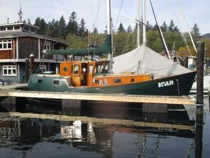 Used Custom Motor Sailor Motorsailer Boat For Sale