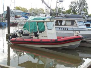 Used Lifetimer 23' Rigid Hull Inflatable Rigid Sports Inflatable Boat For Sale