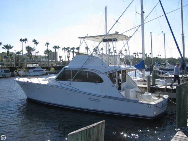 Used Post 46 SF Sports Fishing Boat For Sale