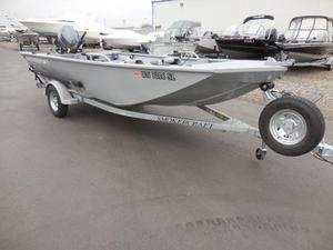 Used Smoker Craft 1660 Sportsman Aluminum Fishing Boat For Sale
