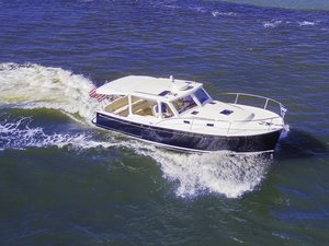 Used Mjm Yachts 36Z Downeast Fishing Boat For Sale