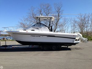 Used Pro-Line 2950 Walkaround Fishing Boat For Sale