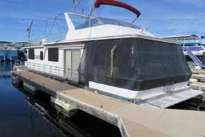 Used Elite Craft Houseboat 55x16 House Boat For Sale