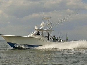 Used Out Island 38 Sports Fishing Boat For Sale
