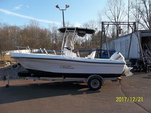 Used Logic 210 Center Console Saltwater Fishing Boat For Sale
