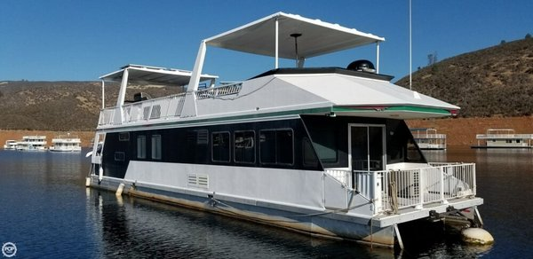 Used Twin Anchors 54 Houseboat House Boat For Sale