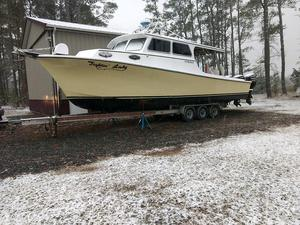 Used Markley Chesapeake Bay Deadrise Downeast Fishing Boat For Sale