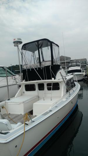 Used Bertram Flybridge Cruiser Motor Yacht For Sale