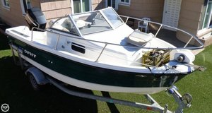 Used Trophy 1802 Walkaround Fishing Boat For Sale