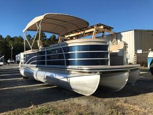 Used Harris 220 Solstice Pontoon Boat For Sale