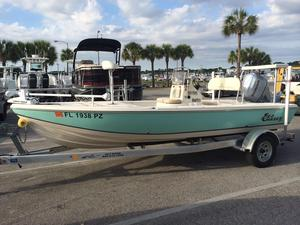 Used Sea Chaser 180 Flats Saltwater Fishing Boat For Sale