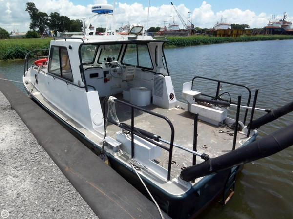 Used Breaux 34 Aluminum Research Vessel Dive Boat For Sale