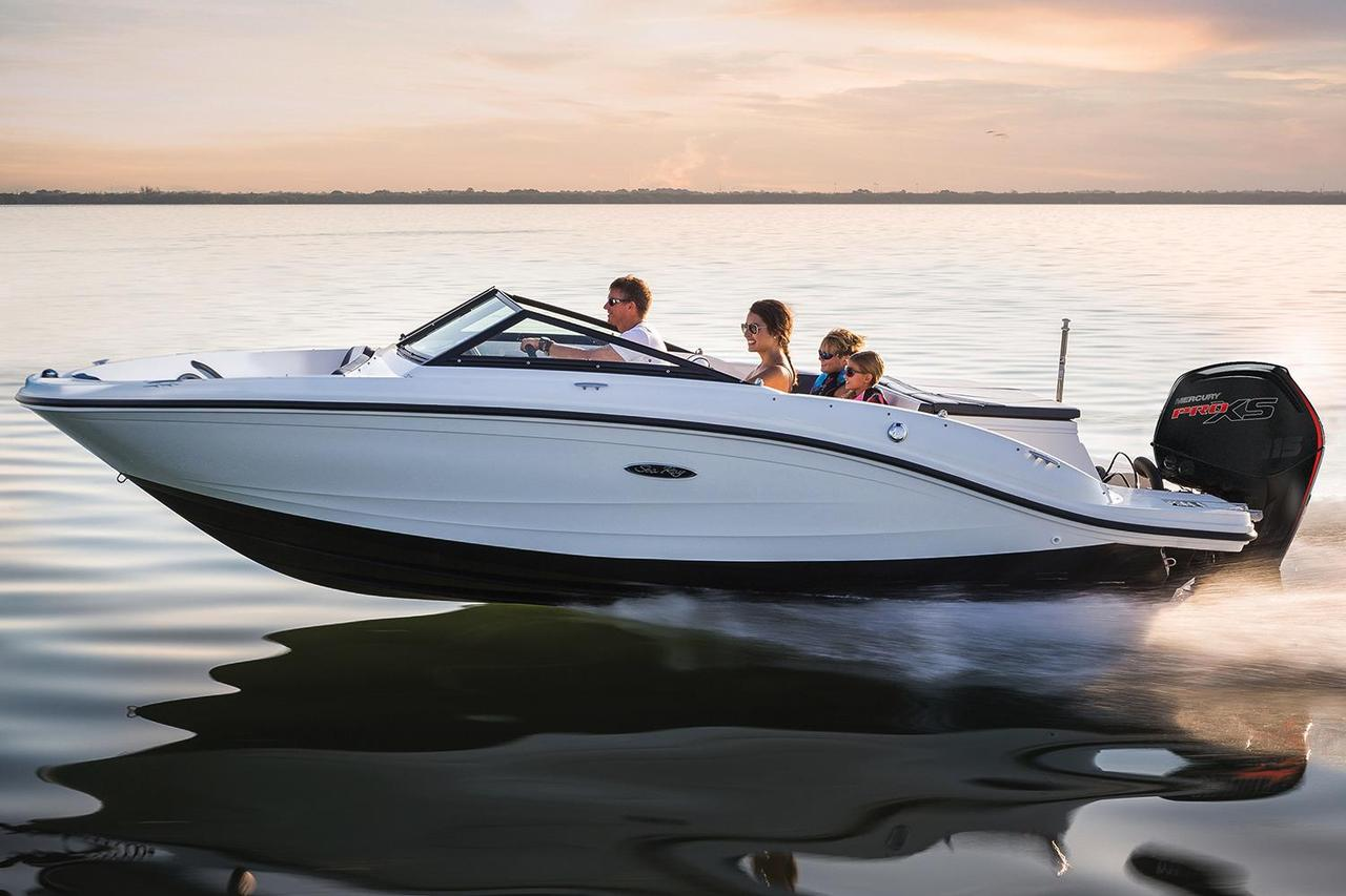 2017 new sea ray 19 spx outboard bowrider boat for sale for Bowrider boats with outboard motors