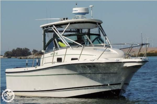2001 used trophy 2802 walkaround fishing boat for sale for Used fishing boats for sale in california