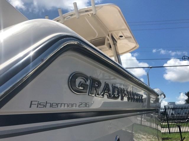 2018 New Grady-White Fisherman 236 Sports Fishing Boat For
