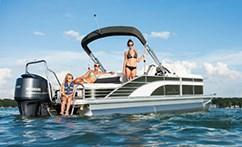 New Bennington G22 Stern Radius Pontoon Boat For Sale