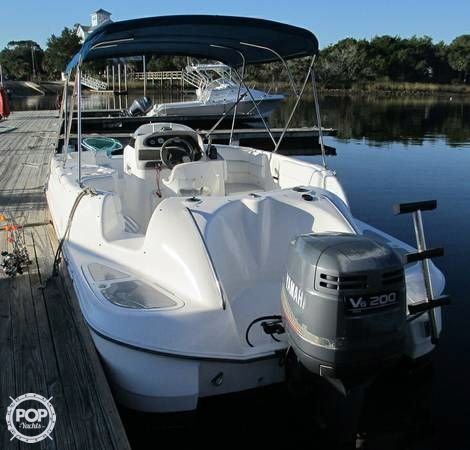 Used Cobia 226 Coastal Deck Boat For Sale