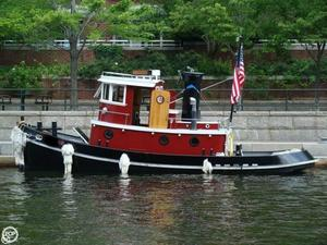 Used Homebuilt 28 Trawler Boat For Sale