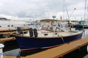 Used Fortier 26 Downeast Fishing Boat For Sale