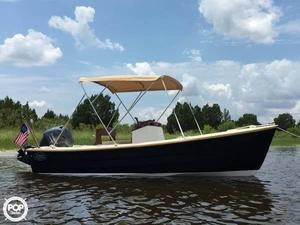 Used Nantucket Boat Works Skiff 17 Skiff Fishing Boat For Sale