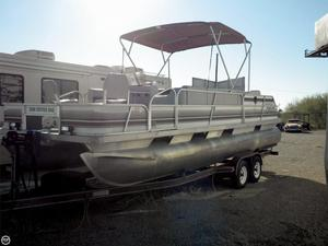 Used Monark Sun Caster 240 Pontoon Boat For Sale