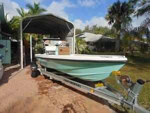 Used Dolphin Back Country Flats Fishing Boat For Sale