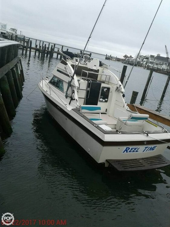 Used Chris-Craft 26 Commander Sports Fishing Boat For Sale