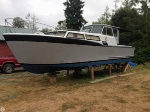 Used Monk 32 Pilothouse Boat For Sale