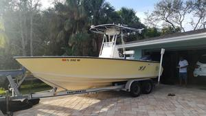 Used Contender Open W/660 Hours & Trailer Center Console Fishing Boat For Sale