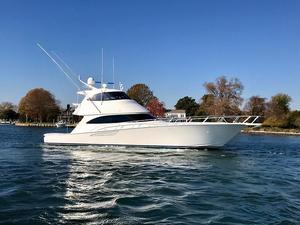 Used Viking 62 Enclosed Bridge Convertible Flybridge Boat For Sale