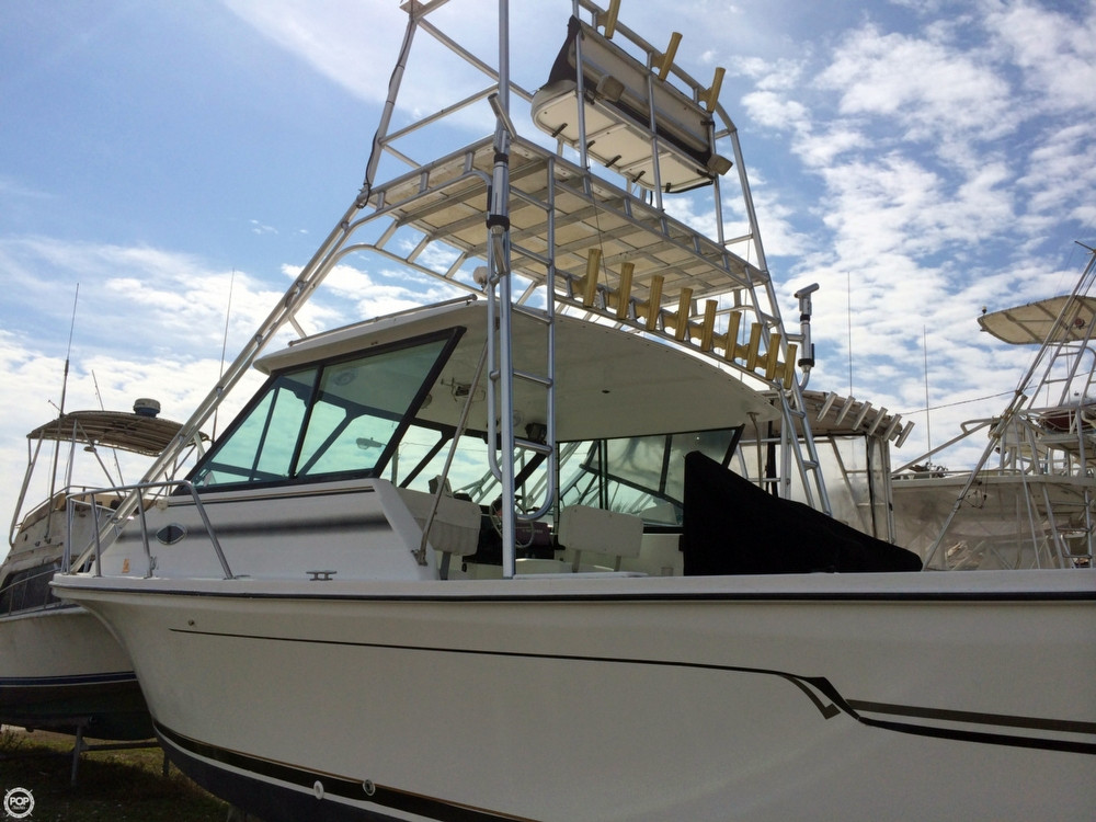 Used Baha Cruisers 299 Fisherman Walkaround Fishing Boat For Sale