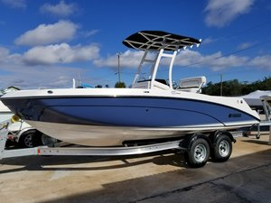 New Yamaha 210 FSH Sport Center Console Fishing Boat For Sale