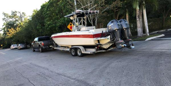 Used Scarab 30 Sport Center Console Fishing Boat For Sale
