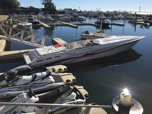 Used Fountain Executioner High Performance Boat For Sale