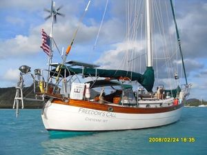 Used Hans Christian 43 Telstar Cruiser Sailboat For Sale