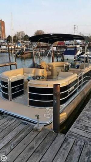 Used Harris Cruiser 220 Pontoon Boat For Sale