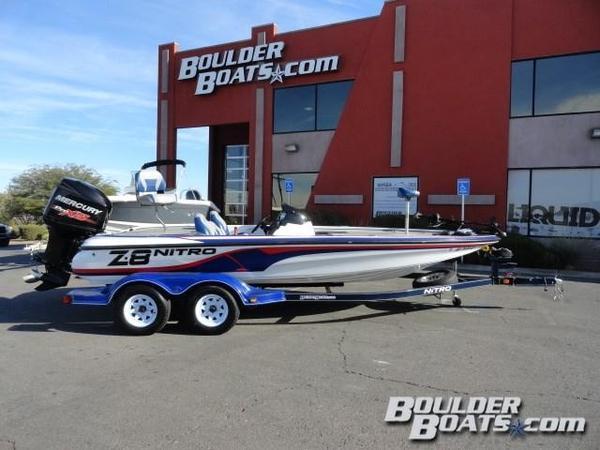 Used Nitro Z-8 DC Freshwater Fishing Boat For Sale