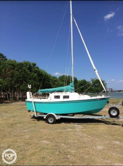 Used West Wight Potter 19 Daysailer Sailboat For Sale