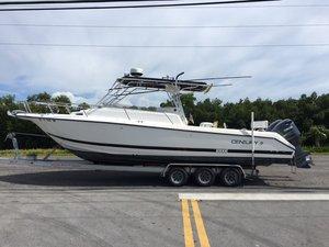 Used Century 30 SPORT WALK CABIN Walkaround Fishing Boat For Sale