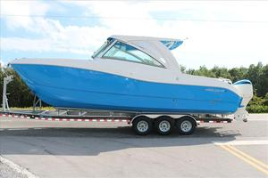 New World Cat Power Cats 320 Dual Console Power Catamaran Boat For Sale