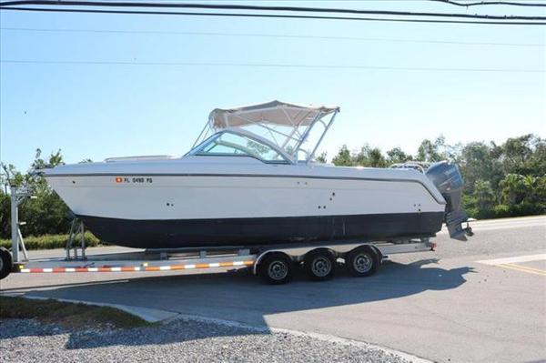 Used Glacier Bay 2740 Dual Console Power Catamaran Boat For Sale