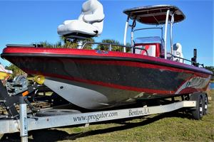 Used Progator Gator Bay 2410 Saltwater Fishing Boat For Sale