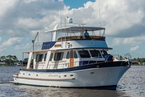 Used Defever Flush Deck/cockpit Trawler Motor Yacht For Sale