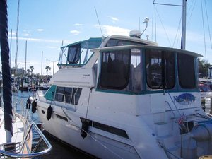 Used Carver 405 Cruiser Boat For Sale