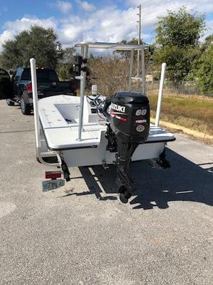 Used Bossman Tortuga Skiff Boat For Sale
