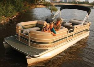 Used Premier 235 Grand Majestic Pontoon Boat For Sale
