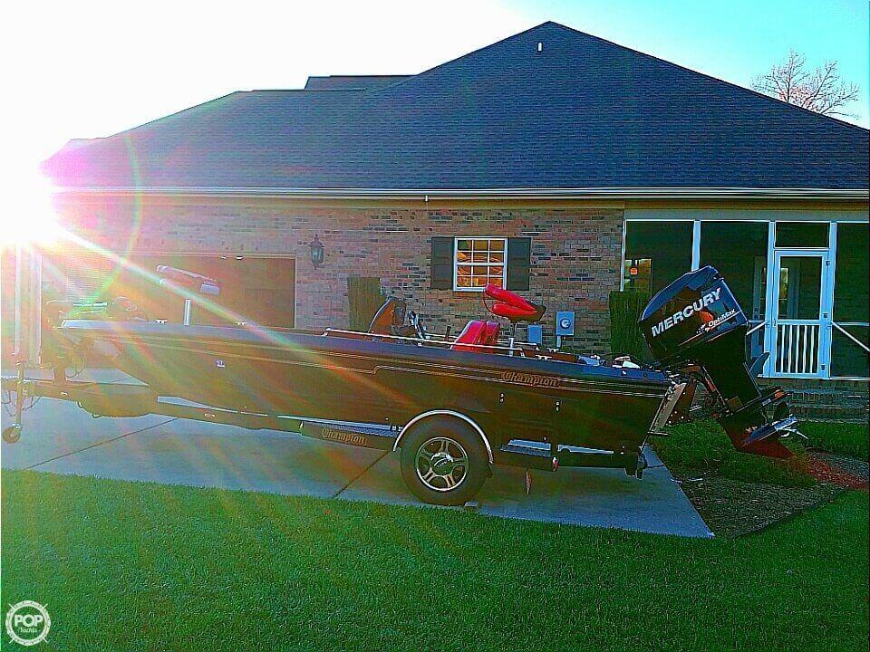 1991 used champion 184 elite bass boat for sale 18 400 for Bass fishing yard sale