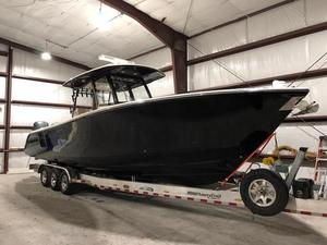 Used Cobia 344 Center Console Saltwater Fishing Boat For Sale